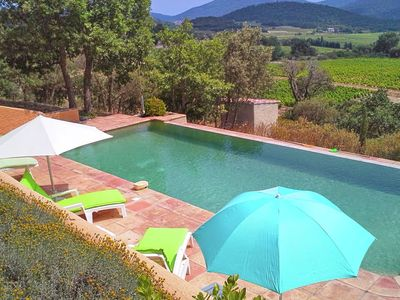 Photo for Lavish Holiday Home in Le Plan-de-la-Tour with Swimming Pool