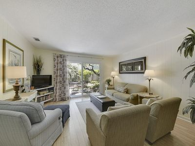 Photo for 2 bedroom, 2-bath, first floor villa in the Island House Complex in Forest Beach