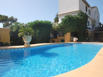Photo for Wonderful holiday home with private pool and own tennis court.
