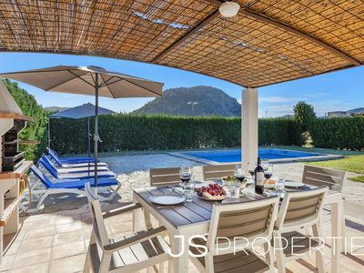 Photo for Villa Can Agusti with mountains view&big garden