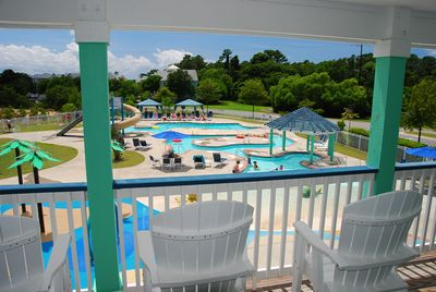 Pool View from the Clubhouse