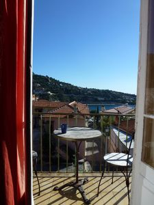 Photo for Superb Sea View with balcony 5 Min Walk to Old Village or French Institute