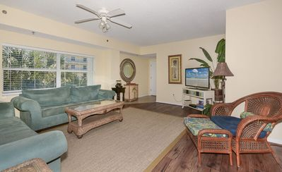 Photo for HOT DEAL FOR JANUARY 2020! Spacious condo with balcony overlooking the natural preserve OW10-307