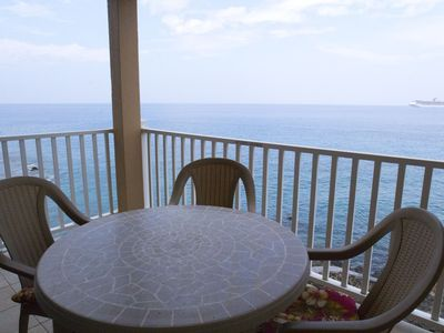 Photo for Oceanfront Condo, Free WIFI, Located on the 2nd Floor