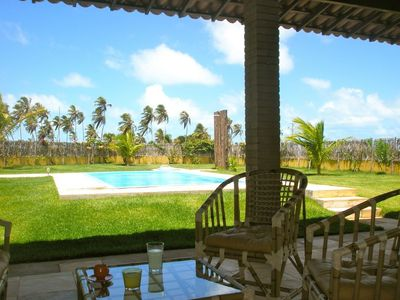 Photo for Sea and Holiday Zen in house with pool in Maracajaú (45min by car from Natal)