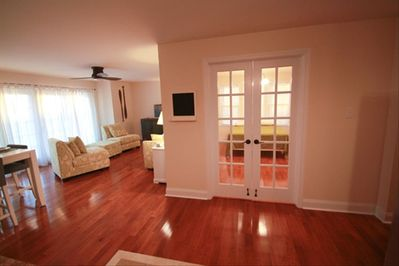 Living room and 3rd bedroom
