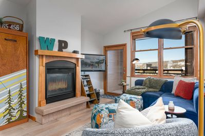 Welcome to Zephyr Mountain Lodge 2419 - a renovated ski in / ski out condo with hip new decor