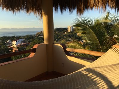 Hammock with a view on upper Palapa level