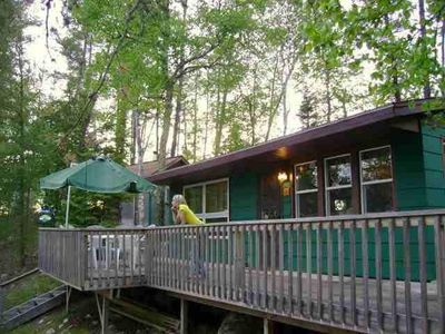 Photo for Island Retreat On Bear Island Lake, Family And Pet Friendly. 10 Minutes To Town.