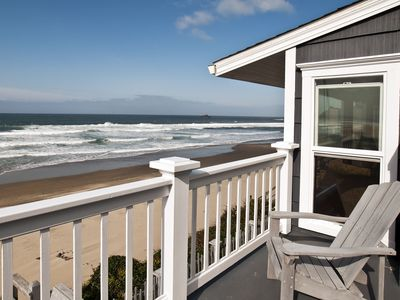 Photo for Roads End Beach House- Oceanfront 5 bedrooms.