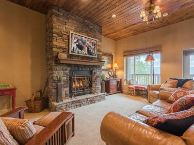 Photo for Mountain Home with Views, Hot Tub, Stocked Kitchen, Minutes to Banner Elk, Beech and Sugar Ski Mtn