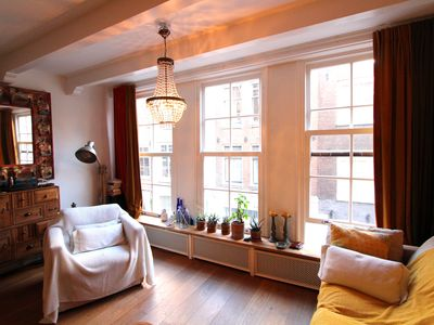 Photo for Super cozy and fully equipped luxurious home in Old Town of Amsterdam: Jordaan