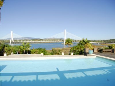 Photo for 3 Bedroom Villa with pool and River views