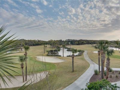 Photo for Golf Course and Lagoon Viewpoints, Next to Beach Club, Golf Club and Expansive Beach