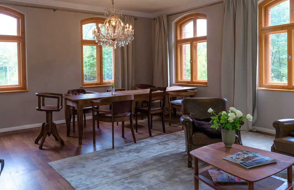 Historic Country House On The Edge Of The Forest In The Vogtland