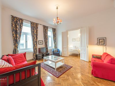 Photo for Large, comfortable, classic Crystal Apartment, centre of Budapest. near Opera