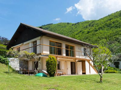 Photo for 4 **** villa with panoramic view and close to Lake Annecy
