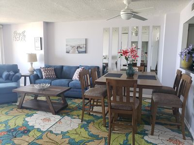 Photo for Oceanfront condo with amazing sunset views
