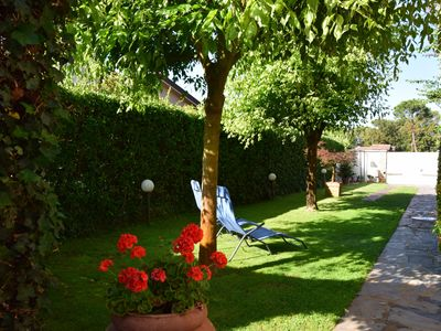 Photo for Villa Cora 250 mts from beach with garden