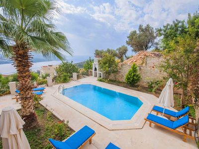 Photo for Reasonably Priced 3 Bedroom Villa with Private Pool and Good Sea Views