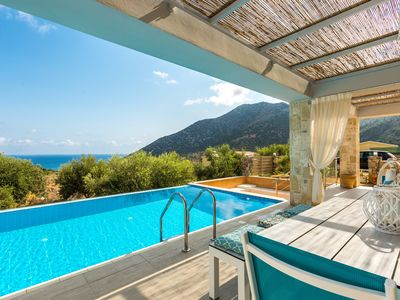 Photo for Villa Sugar! Premium villa, 5* resort facilities, jacuzzi & marvelous sea views!