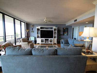 Photo for LUXURIOUS 2400 sq ft condo SPECTACULAR VIEWS, 70 ft balcony, FREE WIFI