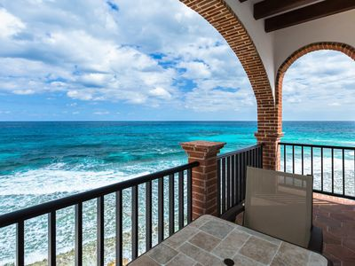 """Photo for Oceanside Villa """"Cozumel"""" with a/c and pool"""