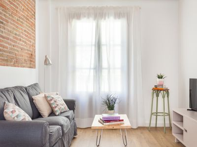 Photo for Bright apartment for long-term rentals for families in the city centre for 4