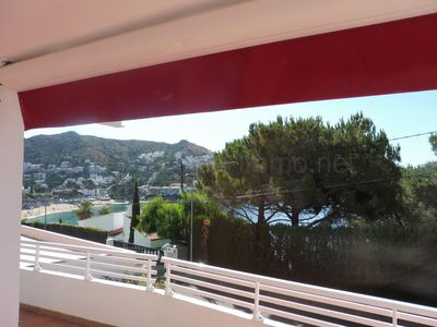 Photo for Renovated apartment, very well located with fantastic sea view Canyelles Petites.