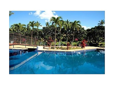 Photo for Large 2 Floor Condo - Wifi, Central Air & Pool Across From Ocean - Many Extras!