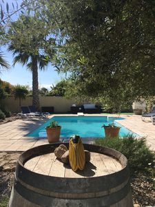 Photo for Promo from June 15 to 22 - Villa South of France, heated pool and barbecue