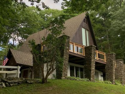 Photo for 18 Private Acres. Spectacular Views. Unwind. Breathe Vermont's famous fresh air.