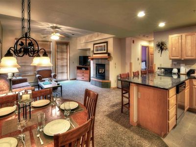 Photo for One Bedroom Resort Condo with Full Kitchen- Pools and Movie Theater!