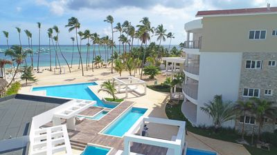 Photo for Beachfront Luxury Condo - Punta Cana Area