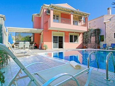 Photo for Doctors House: A modernly designed villa, private pool, a short walk from the centre of Kassiopi
