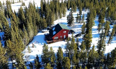 Photo for Creek side secluded mountain cabin near Breckenridge