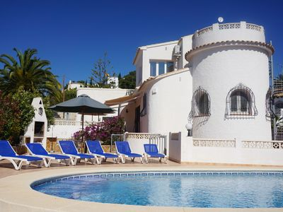 Photo for Villa in Moraira in a quiet location but close to the sea and the center.