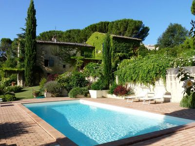 Photo for Umbria villa with pool and stunning garden near Umbrian and Tuscan art towns