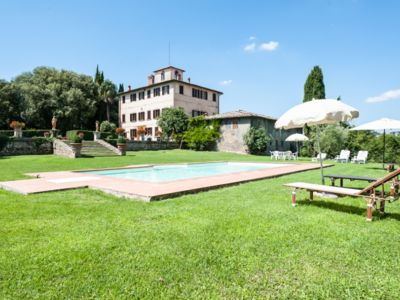 Photo for Wonderful 1700 big villa in Tuscany