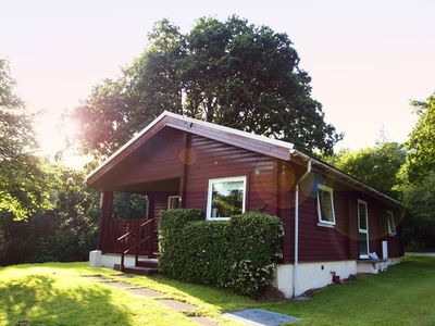 Photo for Stylish, Comfy & Cosy Reburbished Traditional Log Cabin In National Park