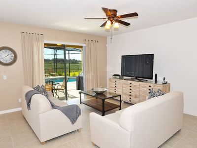 Photo for Luxury on a budget - Solterra Resort - Welcome To Relaxing 6 Beds 4 Baths Villa - 7 Miles To Disney