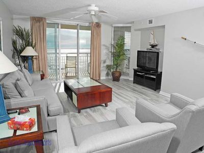 Photo for South Shore Villa Unit 803! Stunning Oceanfront Premium Condo. Book your get away vacation today!