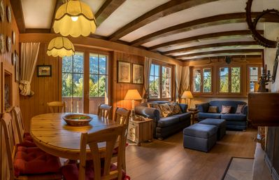Photo for First line chalet with great view of the mountain,apartment on 1st floor.