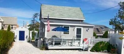 Photo for Cozy Shabby Chic Plum Island Cottage Just 75 Steps To Basin Beach!