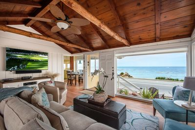 """~  - Welcome to """"Oceanview Serenity""""!  Oceanfront - Watch Sunrises, Whales and Sea Otters - Walk to Lover's Point Beach."""