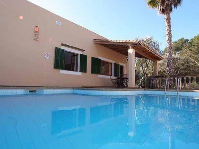 Photo for Ca'n Turicano In Porto Petro With Private Pool, Lovely Garden, Wi-Fi. (VT/0184)
