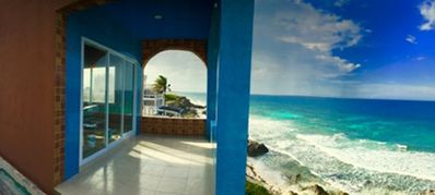 Photo for Relaxing 3 Bdrm Ocean Front Villa w 2 Master Suites + Jacuzzi + AMAZING VIEWS!