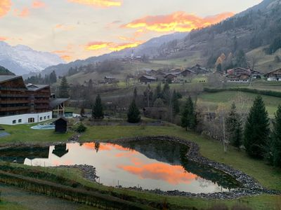 Photo for The Appart at Portes du Soleil and next to it flows a river ....