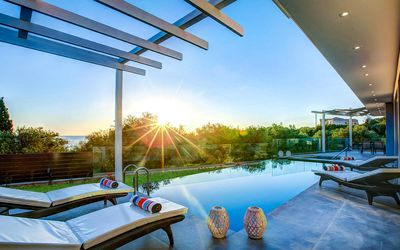 Photo for JuneOffer:Luxury Villa Amethyst With Private Pool &Spectacular View in Zakynthos