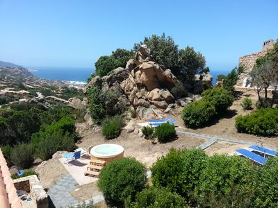 Photo for ROCCETTE TURCHESE, JACUZZI in the rocks, wild Sardinia that you've never seen before